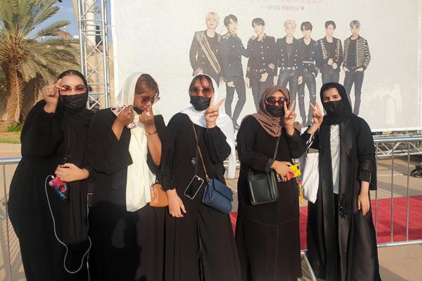 "BTS 공연, 사우디 변화의 강력한 카드…""경기장 첫 관람 행운"""
