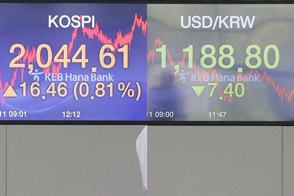 10月11日主要外汇牌价和韩国综合股价指数