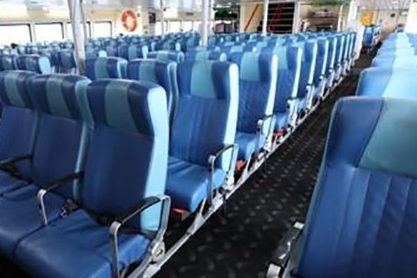 Lượng khách đi tàu du lịch Busan-Nhật Bản giảm hơn 80%