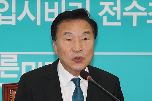 """손학규 """"일왕 즉위식에 문재인 대통령이 직접 가야"""""""