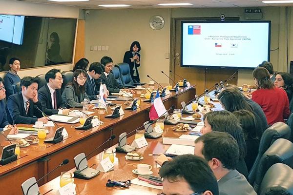 Südkorea und Chile verhandeln Verbesserung von FHA