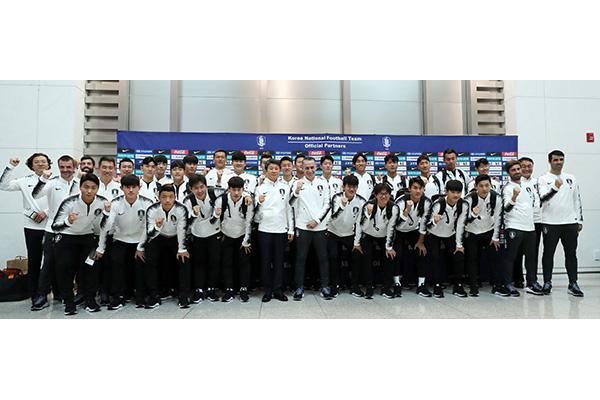 韩国男足时隔29年再赴平壤参加国家代表队赛事