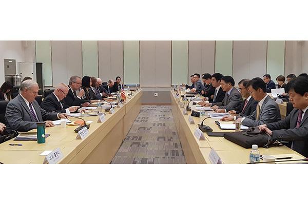 Trưởng đoàn đàm phán chia sẻ chi phí quân sự Hàn-Mỹ họp tại Hawaii