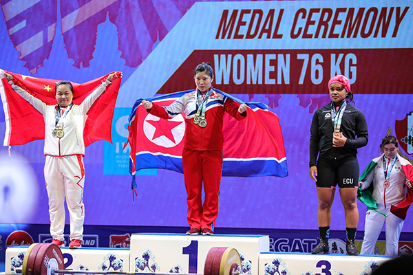 平壌開催の重量挙げ選手権 北韓から韓国に招待状届く