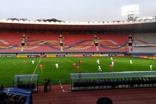 Футболисты Юга и Севера сыграли вничью в отборочном матче ЧМ-2022