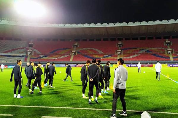 Corea del Sur se enfrenta a Corea del Norte en la eliminatoria del Mundial 2022
