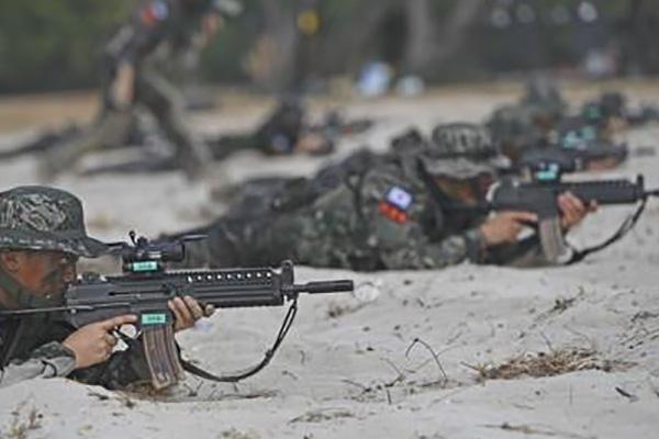Морская пехота РК провела в этом году максимальное количество совместных с США учений