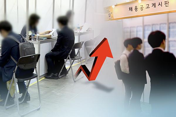 10月の就業者数 増加幅が3か月連続で30万人上回る