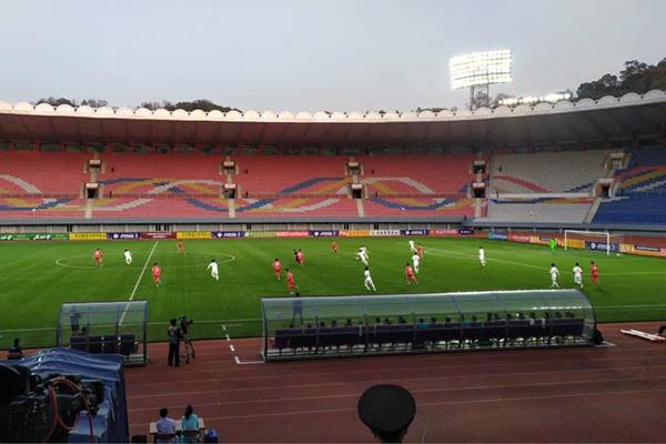 Fußballverband übermittelt AFC  Bedauern über WM-Qualifikationsspiel in Pjöngjang
