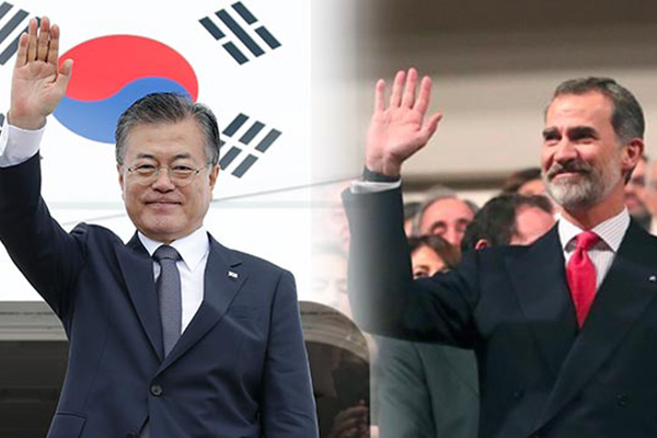 Pres. Moon to Hold Summit with King Felipe VI of Spain Next Week