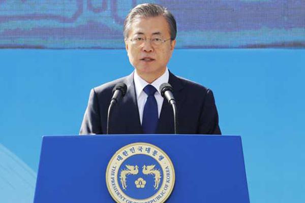 Präsident Moon: Machtorgane bestehen für Bürger
