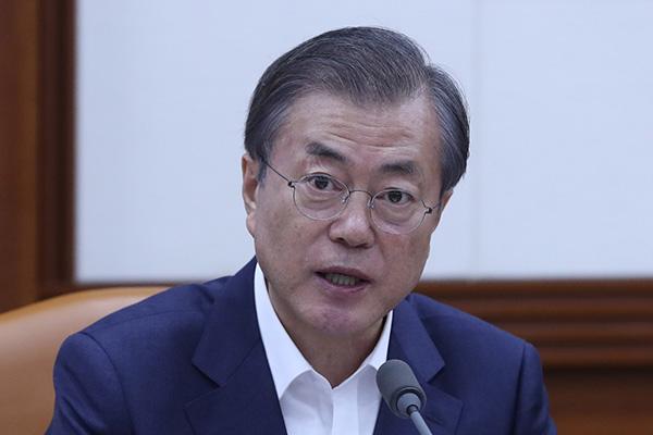Staatspräsident Moon will Staatsausgaben zur Konjunkturbelebung erhöhen