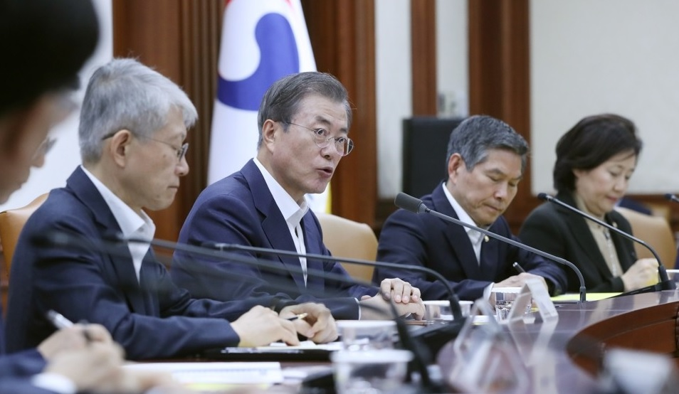 Moon to Ride out Downturn with Aggressive Fiscal Spending