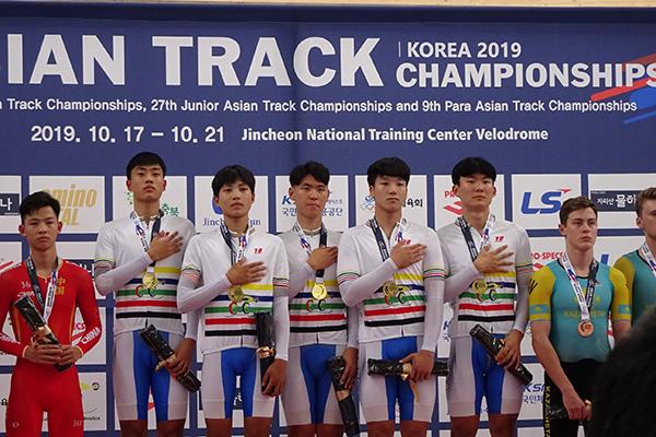 Championnats d'Asie de cyclisme sur piste : la Corée du Sud remporte quatre médailles d'or