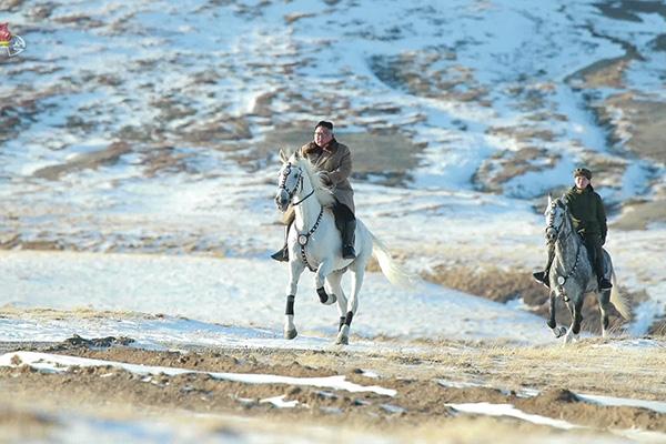 Лидер КНДР побывал на горе Пэктусан