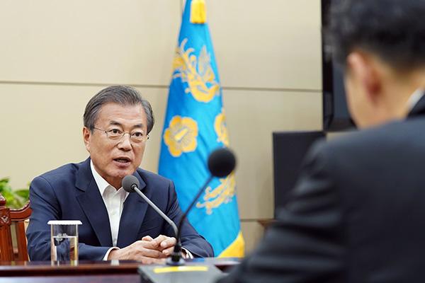 Moon Jae-in évoque la nécessité de réformer la Police et les services de renseignement