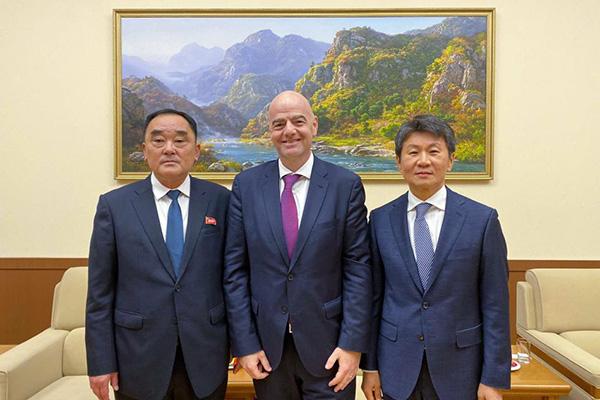 Südkoreas Fußballverband-Chef diskutiert mit FIFA und Nordkorea über Ko-Ausrichtung von Frauen-WM