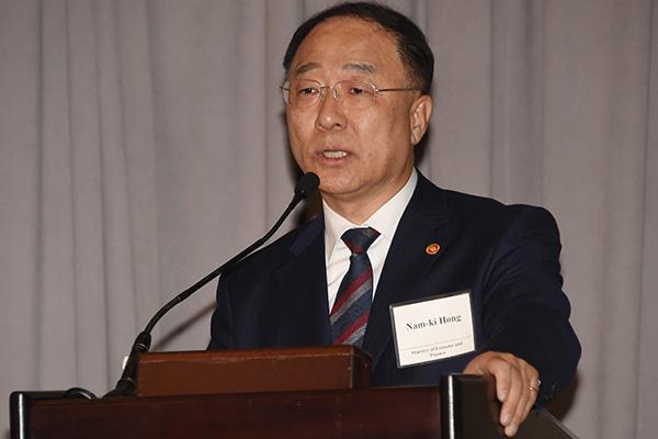 洪楠基:将同时向国际社会介绍日本限贸并实施外交努力