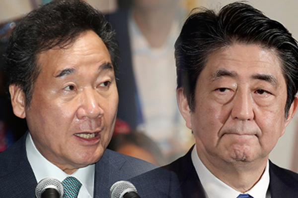 李총리 방문 앞 日정부 '징용문제 해결' 주장 반복