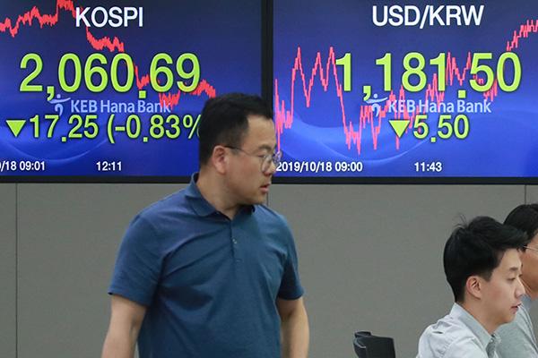 Bourse : fin de semaine en baisse