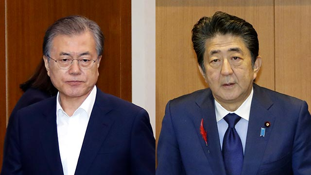 Kyodo: Moon Expected to Send Letter to Abe through Prime Minister Lee