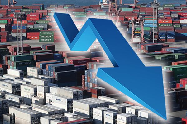 За первые 20 дней октября южнокорейский экспорт сократился на 19,5%