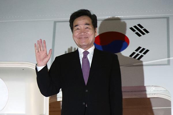 Lee Nak-yon à Tokyo pour assister à l'intronisation de l'empereur Naruhito