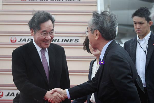 Premier surcoreano asiste a la coronación del emperador de Japón