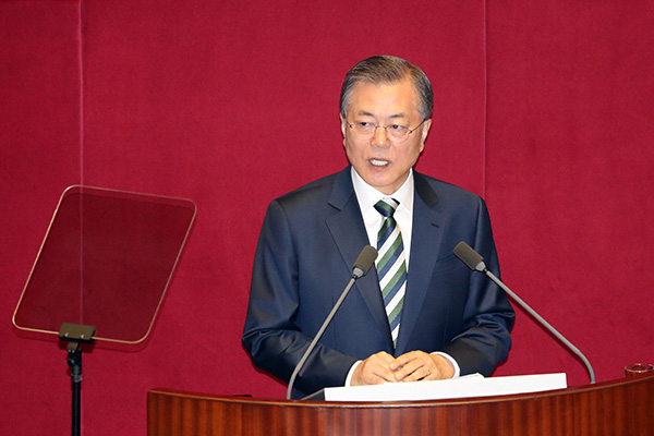 Moon Reveals Dual-Track N. Korea Approach for 2nd Half