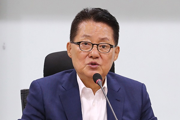 """박지원 """"김정은 '금강산 발언'은 미국 향한 강한 메시지"""""""