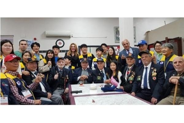 국내 청소년 사절단 21명, 터키 방문…한국전 참전용사에 감사 표시