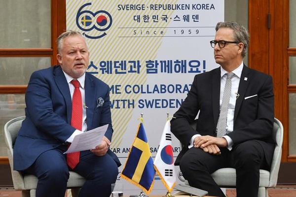 Kent Harstedt : la Suède invitera de nouveau Washington et Pyongyang à Stockolm