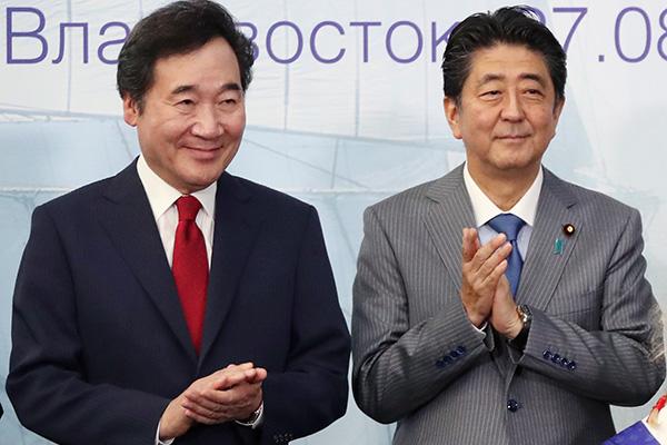 اجتماع بين رئيس الوزراء الكوري والياباني