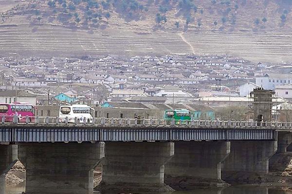 북중 수교 70주년 영향 북한 금강산 방문 중국인 급증