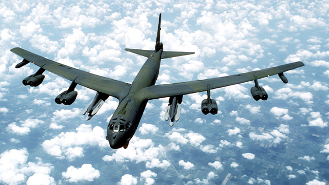 Two US B-52 Bombers Engage in Missions over East Sea