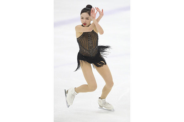 La patineuse Lim Eun-soo remporte l'Asian Open Figure Skating Trophy de l'ISU