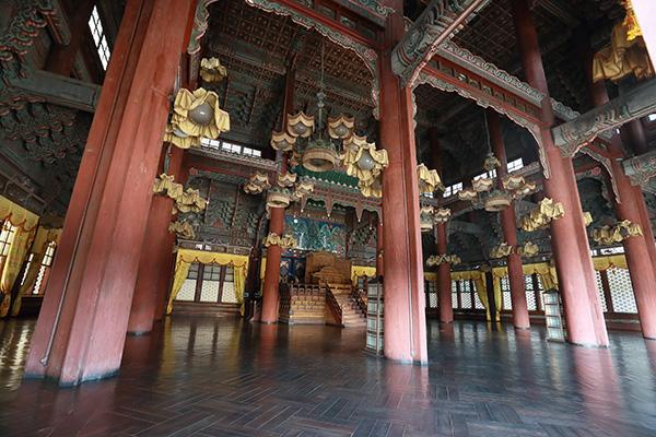 Aula Utama Istana Changdeokgung, Injeongjeon Dibuka untuk Publik Hingga Akhir Bulan