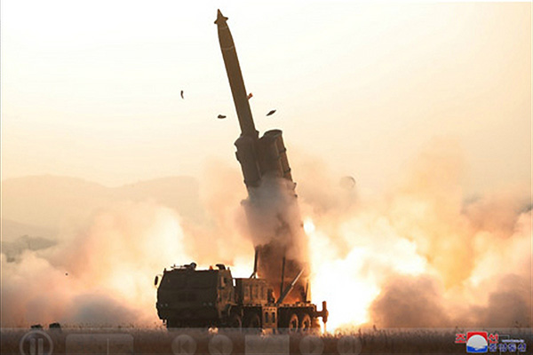 31日発射の北韓飛翔体は「弾道ミサイル」 韓国国防情報本部