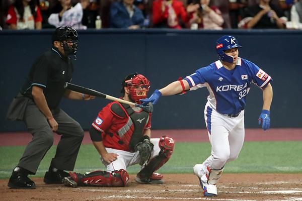 Baseball : la Corée du Sud bat le Canada au Premier 12 du WBSC