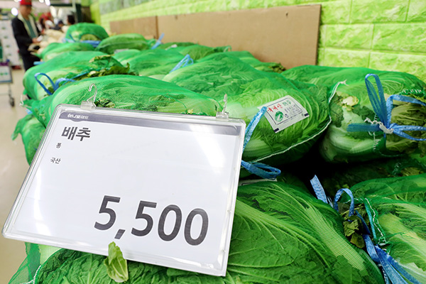 Regierung bringt vor Kimjang-Saison Vorräte von Chinakohl und Rettich auf Markt