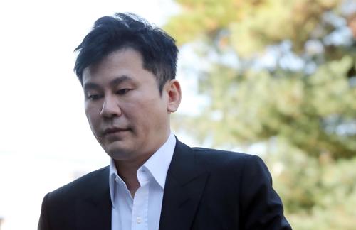'마약 수사 무마 의혹' 양현석 14시간 경찰 조사 뒤 귀가