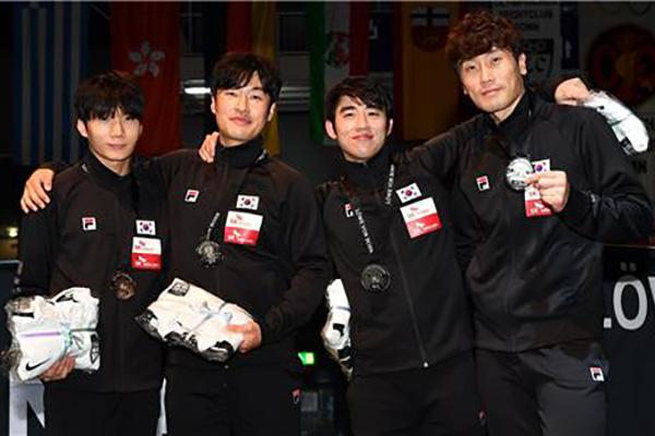 Tim Anggar Floret Putra Korsel Berhasil Kantongi Medali Perak di Piala Dunia FIE 2019