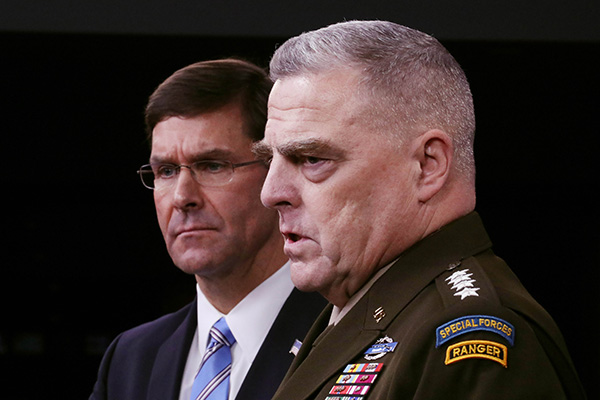 US JCS Chief: Americans Ask Questions about US Troop Presence in S. Korea, Japan