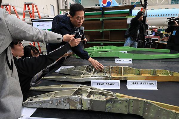У 13 самолётов Boeing 737 NG южнокорейских авиакомпаний обнаружены трещины в фюзеляже