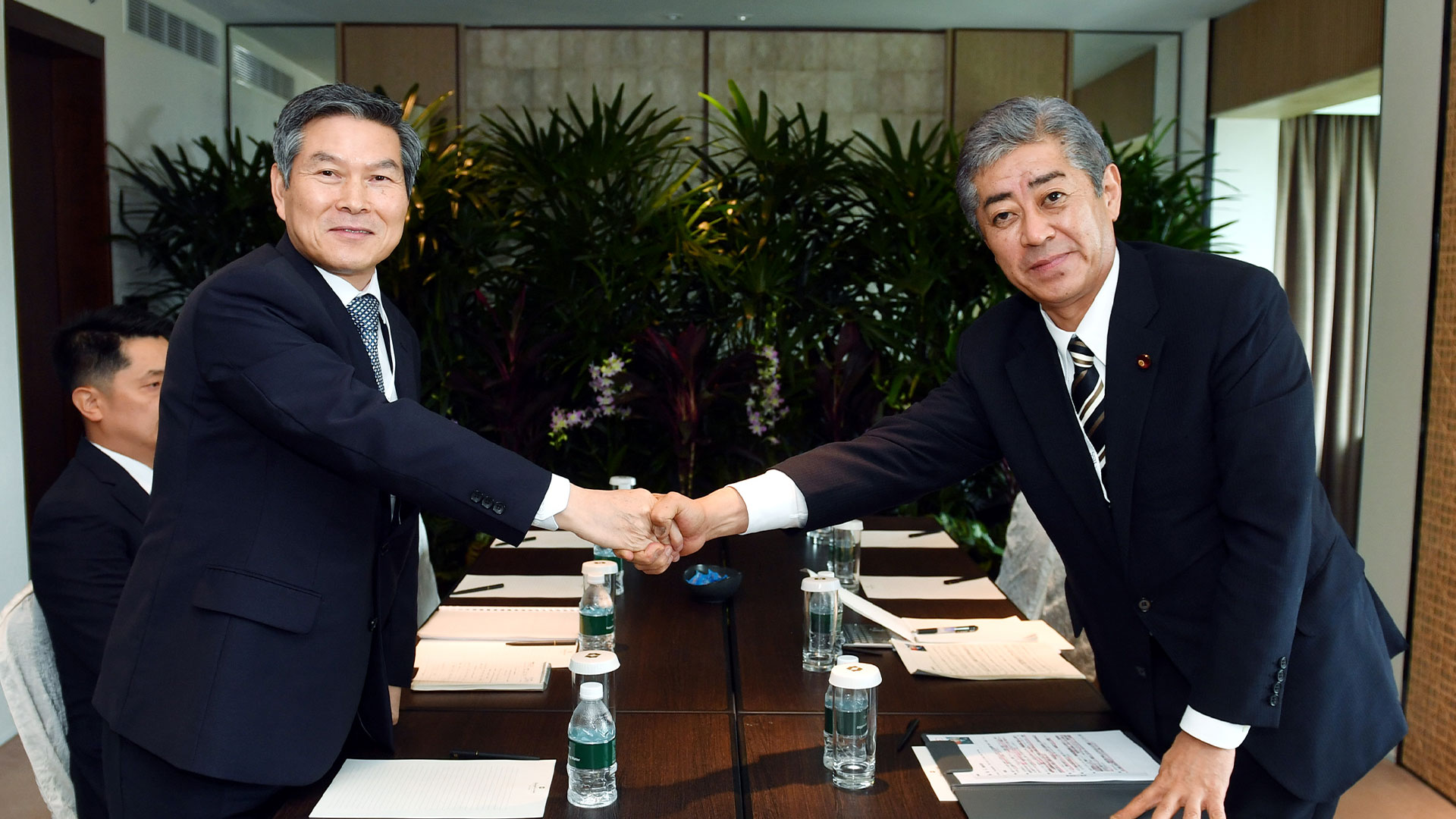 Kyodo: S. Korea, Japan Defense Chiefs' Meeting Being Arranged