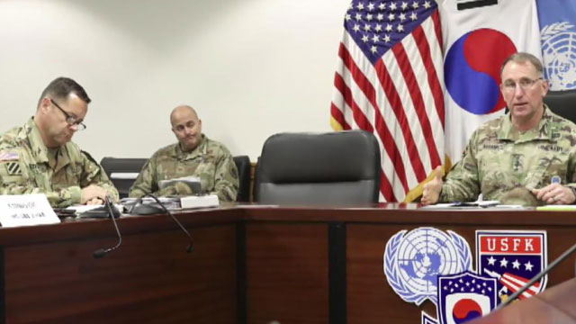 USFK Chief: Ending GSOMIA May Send Wrong Message that Allies 'Not Strong Enough'