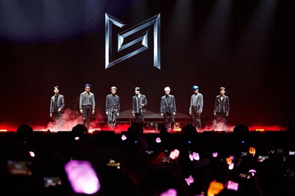 男子组合Super M开始北美巡演