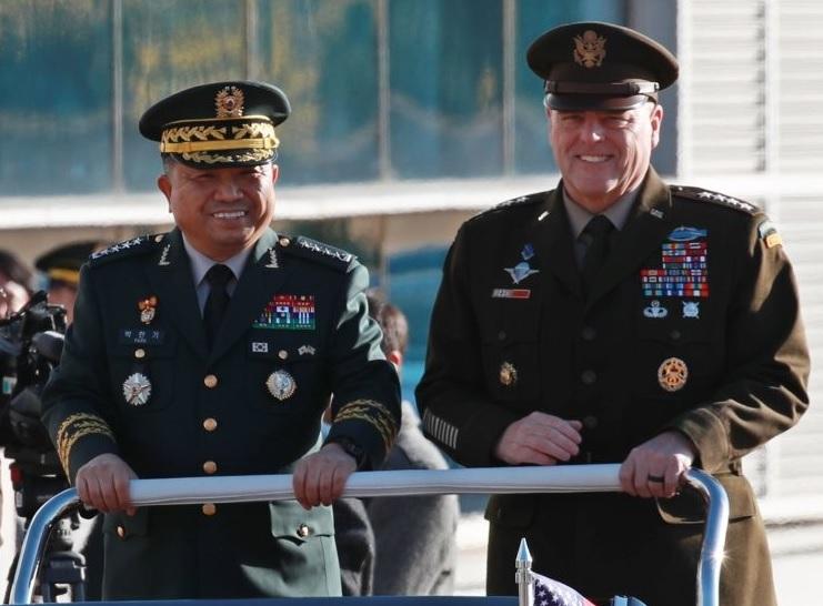 S. Korean, US JCS Chairs Meet as GSOMIA Expiration Nears