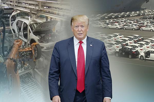 Trump decidirá en breve sobre aranceles a coches importados