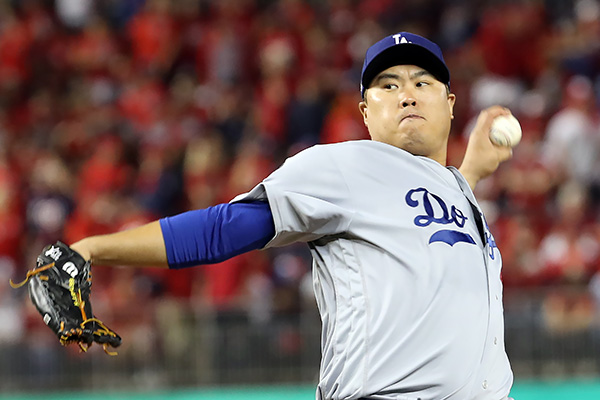 Ryu Comes in 2nd for Cy Young; Becomes 1st Asian to Receive First-place Vote